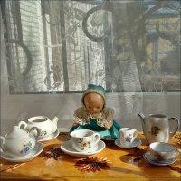 С кукольной посудкой 50-х и 60-х годов :: Нина Корешкова