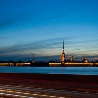Закат над Невой :: Кирилл Колосов
