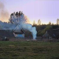 Вечер в деревне :: Павлова Татьяна Павлова