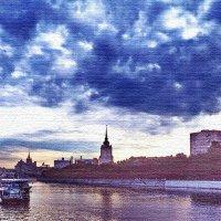 Городской пейзаж 4 :: Борис Александрович Яковлев