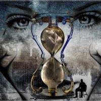 Коллаж к песне. Юлия Альбах - Песочные Часы :: Анатолий. Chesnavik.