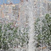 Город сквозь капли :: Дмитрий Сахнов