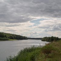 Облака над рекой. :: Андрий Майковский