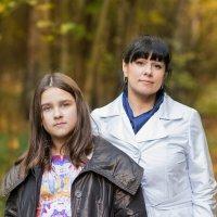 Мама и дочка :: Татьяна Шевченко