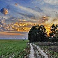 Небо  и  вечер. :: Валера39 Василевский.