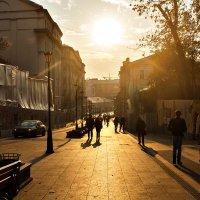 Золотая осень на улице Забелина :: Irina-77 Владимировна