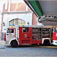 Машина пожарных. :: Валерия Комова