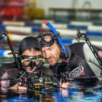 Подводные фотомастера Анфиса и Андрей Некрасов :: Сергей Естегнеев
