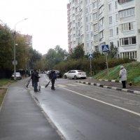 Октябрь в Подмосковных Люберцах :: Ольга Кривых