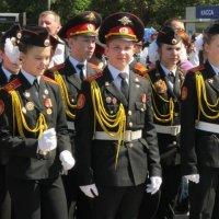 Кадеты на параде Победы :: Дмитрий Никитин