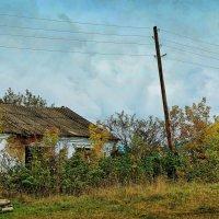 Сибирская глубинка. Домик в деревне :: Дмитрий Конев