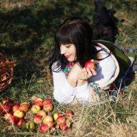 наливные яблочки :: Дина Горбачева