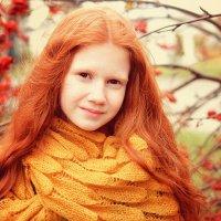 рыжая девочка осень :: Вера Аверьянова