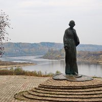 Памятник Марине Цветаевой. :: Юрий Шувалов