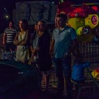 Крым. На коктебельской набережной в темноте :: Николай Ефремов