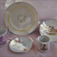 Старая посуда 50-х, 60-х и 70-х... :: Нина Корешкова