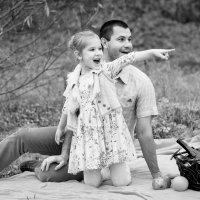 Папа и дочка :: Наталия Давыдова