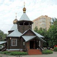 Люберцы. Церковь Иннокентия, епископа Иркутского. :: Александр Качалин