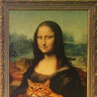 Пригрелся кот у вечного шедевра..... :: Tatiana Markova