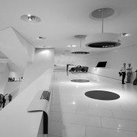 Porsche museum architekur :: Valerius Photography