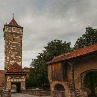 Ротенбург-об-дер-Таубер. Башня Рёдертор. :: Надежда Лаптева