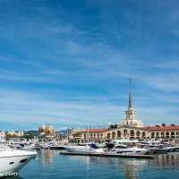 В морском порту Сочи,  6 октября 2015 года. :: Валерий Смирнов