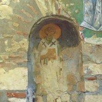 прижизненная фреска Николая-Угодника :: Сергей Цветков