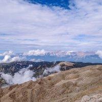 Прогулка над облаками! :: Сергей Цветков