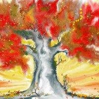 Красное дерево :: Ирина Сивовол