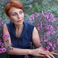 осенние цветы * осень и цветы :: Райская птица Бородина