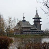 Деревянная церковь Благовещенье. :: Oleg4618 Шутченко