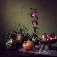 Из серии Про орхидею на бамбуке :: Ирина Приходько