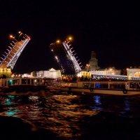 Ночь разводных мостов. :: Лариса Красноперова