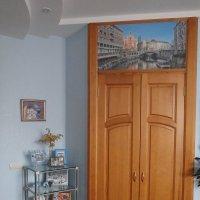 Оформление дверей гардероба - фреска Венеция :: Людмила Огнева
