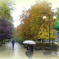Бульвар на ул. Пушкинской. :: Лариса Авдонина