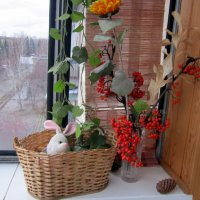 Украшение на балконе . :: Мила Бовкун