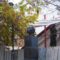 Памятник Мандельштаму в Москве :: marmorozov Морозова