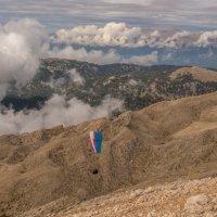 полет в горах :: Сергей Цветков