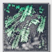Снег в саду :: Григорий Кучушев