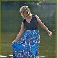 Фотосессия,вот и платье намочила :: Лидия (naum.lidiya)