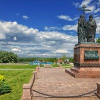 Коломна. Памятник Кириллу и Мефодию :: mila