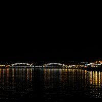 Ночной мост в Питере :: Pavel Lomakin