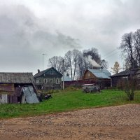 Осень в деревне. :: Oleg4618 Шутченко