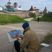 У Монастыря... :: Валентина Папилова