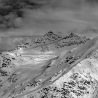 Приэльбрусье. Вершины большой и малый Когутай. :: Александр Хорошилов