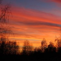 Осенний закат :: Андрей Скорняков