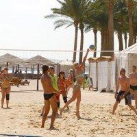 Пляжный волейбол :: Олег Савин