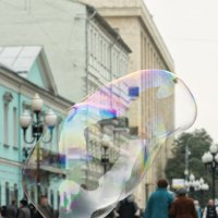Летал по улице пузырь :: Александр Степовой