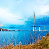 Владивосток. Мост. О.Русский. :: Наталья Александрова