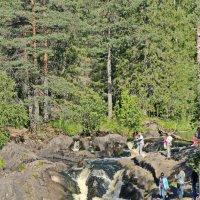 Водопад на реке Тохмайоки Название :: Олег Попков